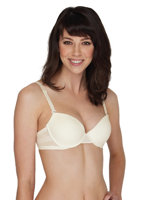 Triumph Sheer Wing Lace Petites Padded Push Up Underwire Bra 3059