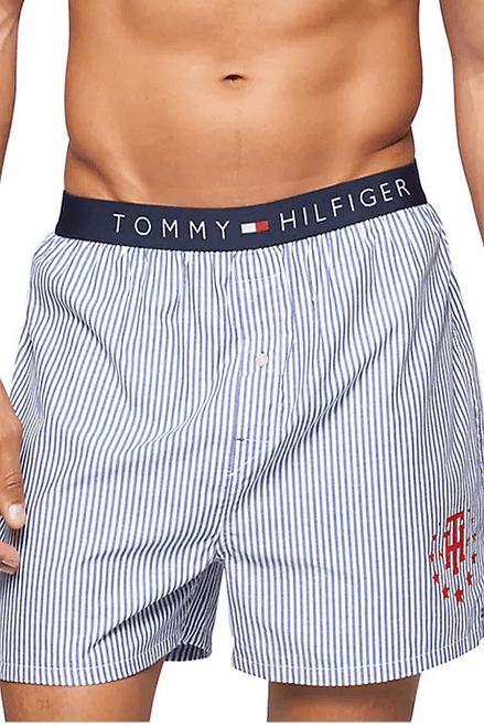 Tommy Hilfiger 100% Cotton Printed Woven Boxer HCT3256  Photo: the Bay