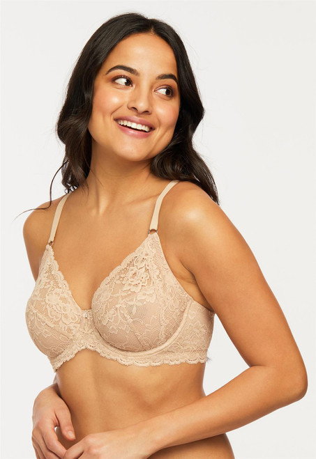 Montelle Muse Lace Underwire Full Cup Bra 9324