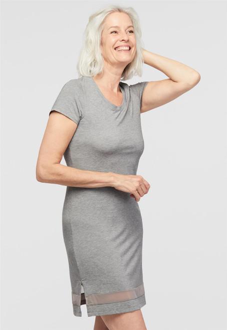 Lusomé  Cotton Short Sleeve Gabriela Nightie LF17-169