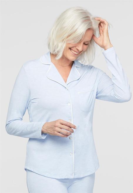 Lusomé  Cotton Long Sleeve Donna Shirt LS13-121S