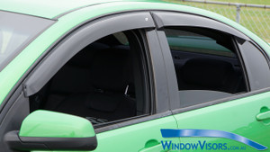 Weathershields - Slim Line Plus Series - Tinted - for Holden Commodore VE VF Sedan 2006-2017