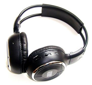 Infrared Wireless Stereo Dual Channel Headphones - Mongoose QHP