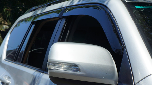 Slim Line Weathershields - Tinted Glass - Plus Series