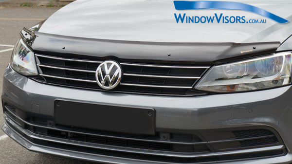 Universal Mount Bonnet Protector - Tinted Glass