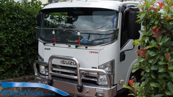 Window Visors for Trucks - Tinted Glass