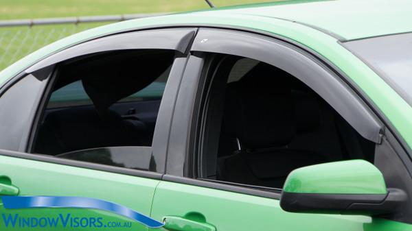Weathershields - Slim Line Plus Series - Tinted - for Holden Commodore VE VF Sedan 2006-2017