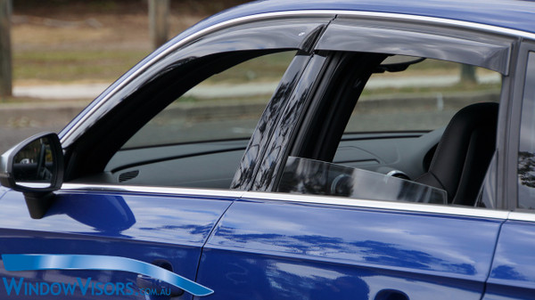 Weathershields - Slim Line Regular Series - Tinted - for Audi A3 S3 Sportback 8V 2013-2020