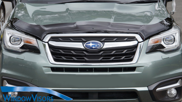 Premium Style Bonnet Protector - Tinted - for Subaru Forester SJ 2013-2018