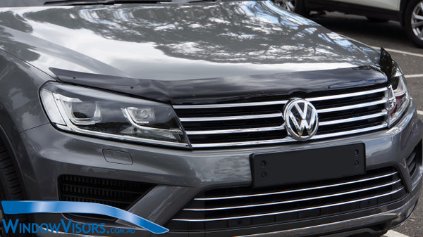 Premium Style Bonnet Protector - Tinted - for Volkswagen Touareg 2010-2018