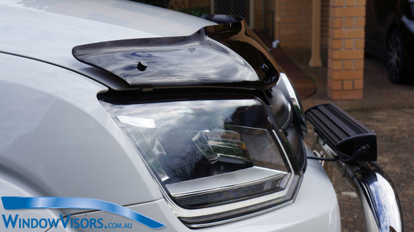 Universal Mount Bonnet Protector - Tinted - for Volkswagen Amarok 2010-2020