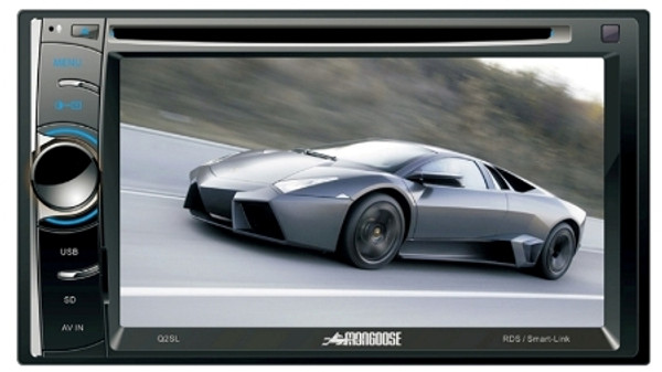 Double-Din Multimedia System - Mongoose Q2SL - SmartLink Ready