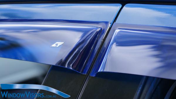 Slim Line Weathershields - Coloured Glass - Regular Series