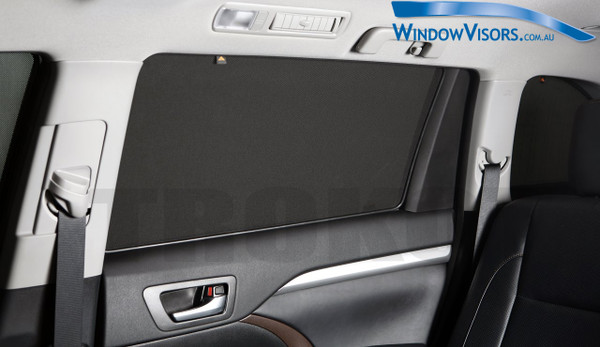 Magnetic Shades - 2 Rear Side Window Blinds