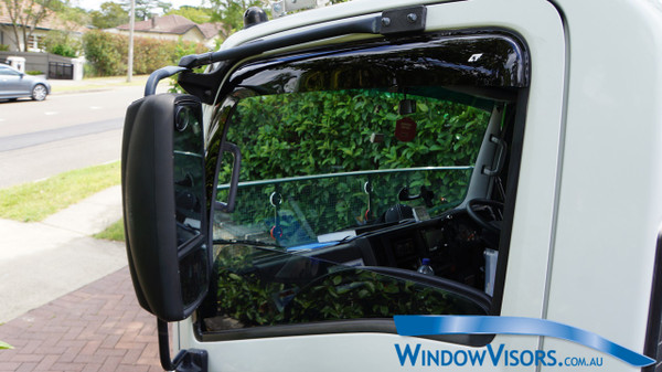 Window Visors for Trucks - Tinted Glass