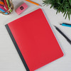 Pen + Gear Poly Composition Book, Wide Ruled, 80 Sheets, Red  - *Ships from Miami*