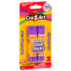 Cra-Z-Art Washable Glue Sticks, Disappearing Purple, 2 Count