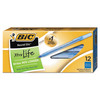 BIC Round Stic Xtra Life, Medium Point, 12ct, Blue  - *Ships from Miami*