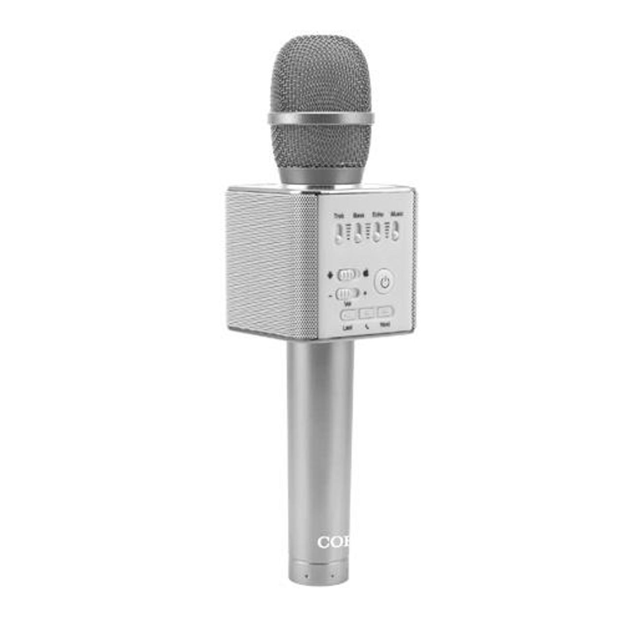 COBY KARAOKE CKM802  BLUETOOTH MICROPHONE
