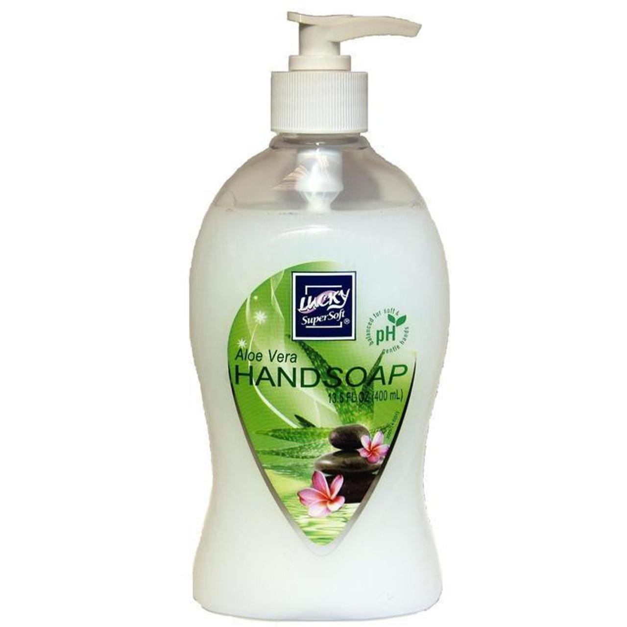 LUCKY ALOE PEARL LIQUID HAND SOAP