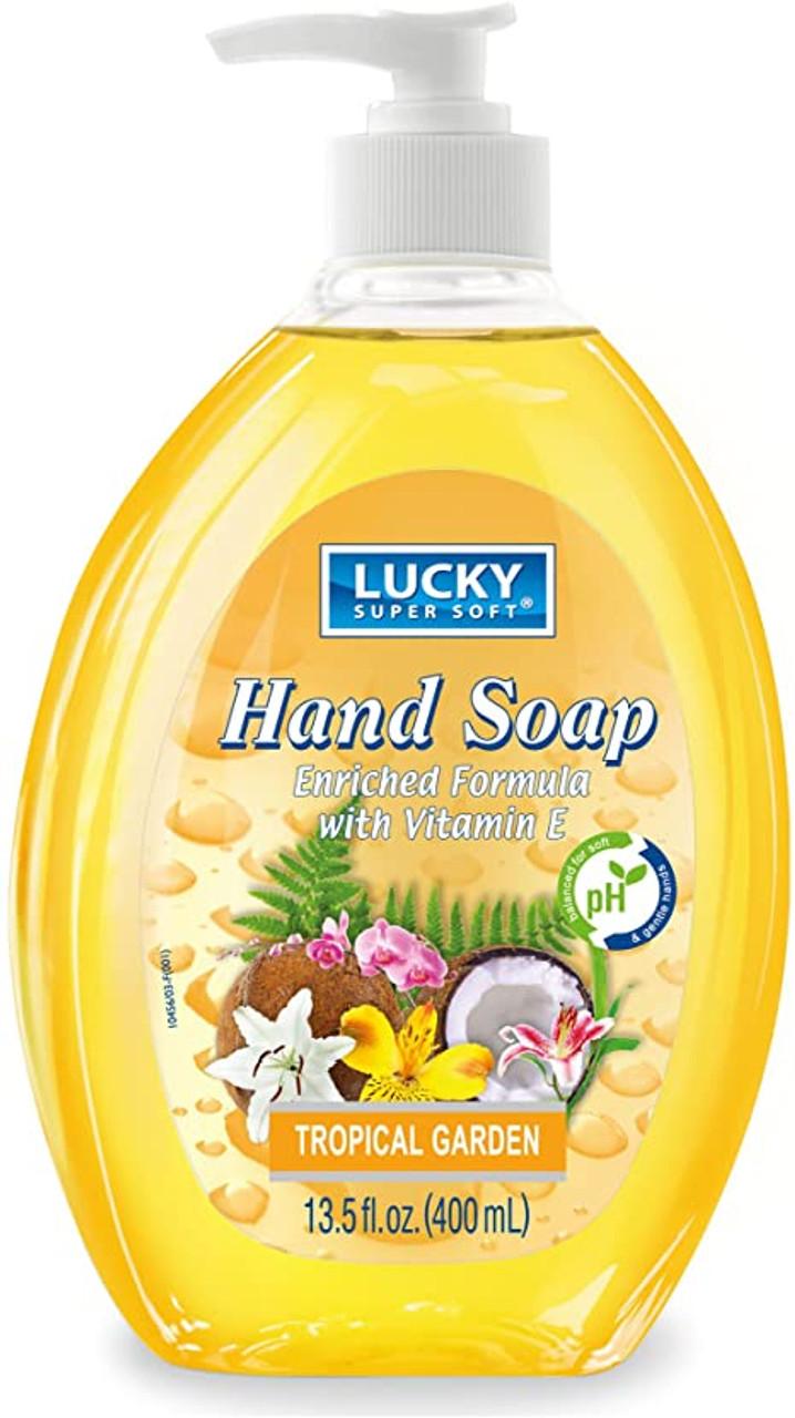LUCKY TROPICAL GARDEN LIQUID HAND SOAP