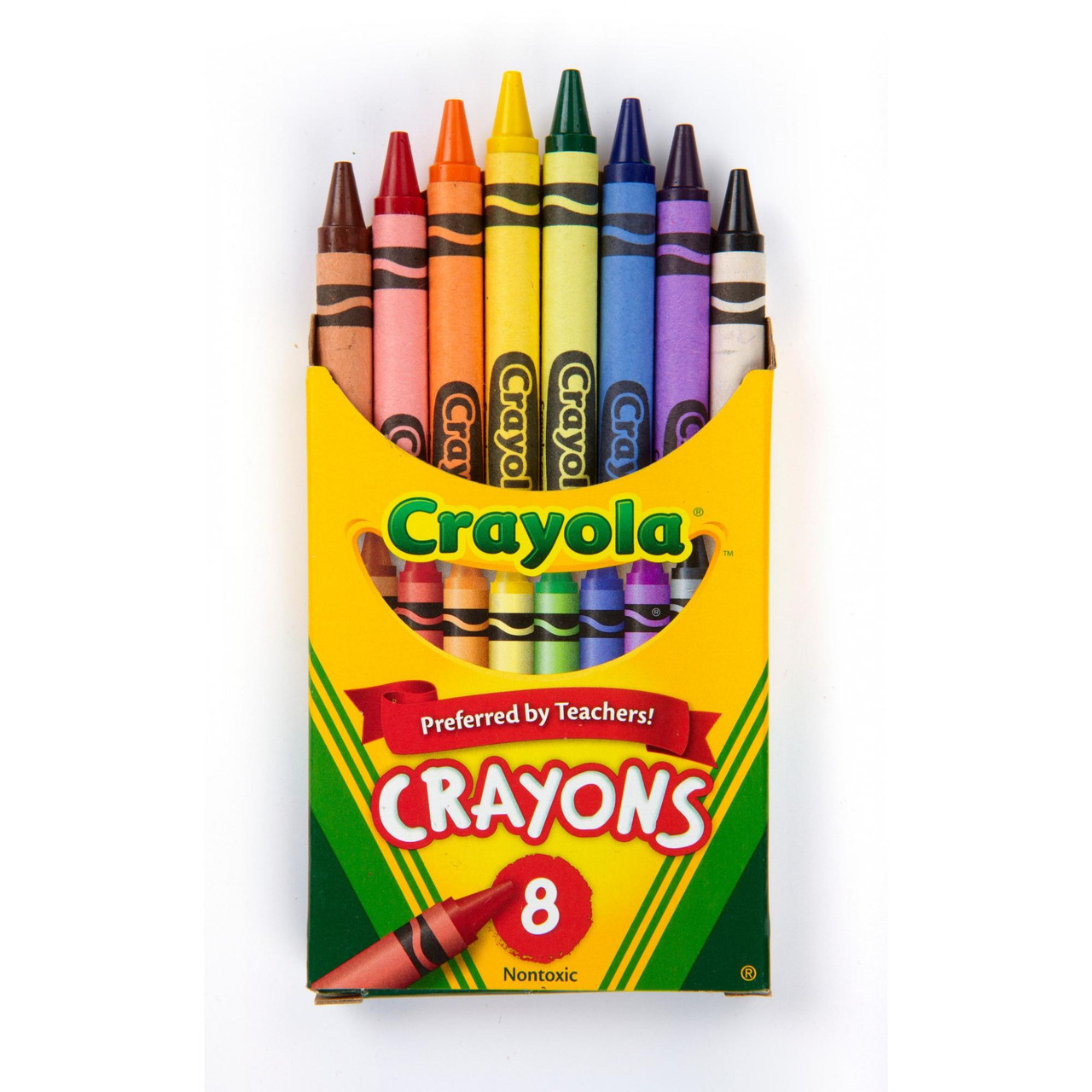 Crayola Classic Crayons, School Supplies, 8 Count  - *Ships from Miami*