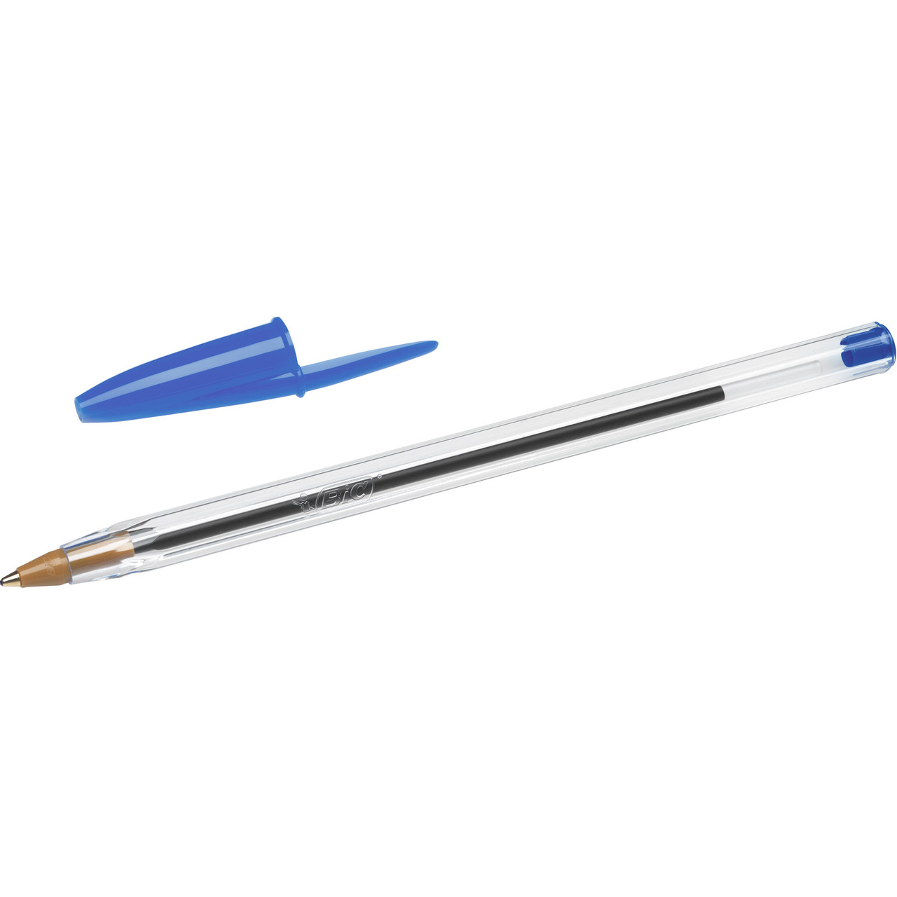 BIC Cristal Xtra Smooth Ball Pen, Medium Point (1.0mm), Blue, 10 Count  - *Ships from Miami*