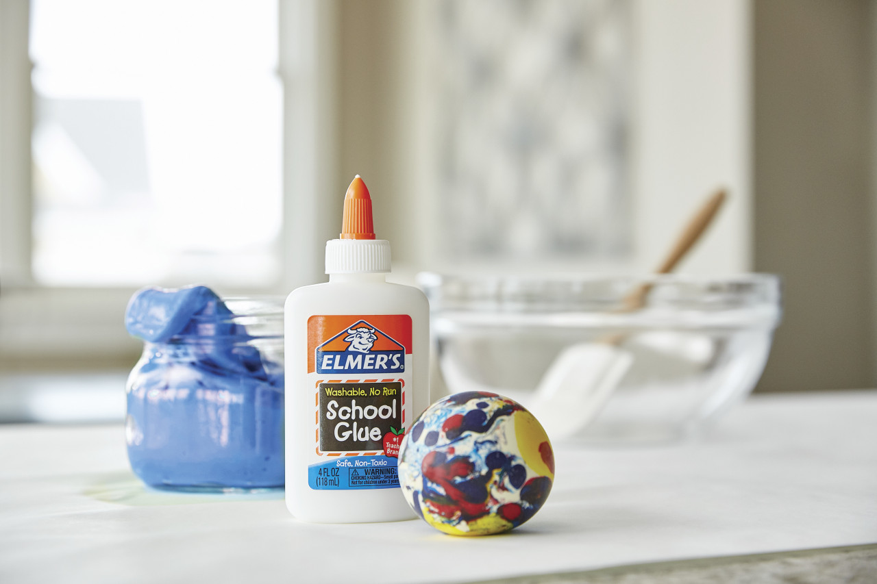 Elmer's Liquid School Glue, White, Washable, 4 oz.  - *Ships from Miami*