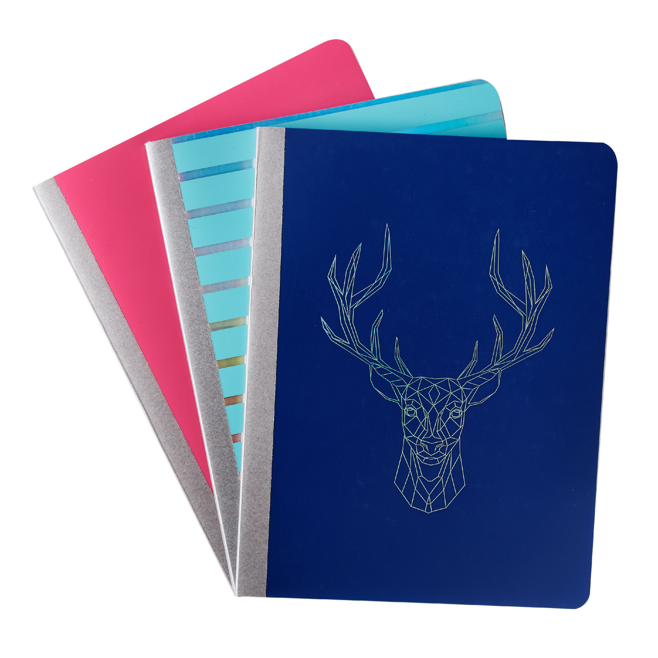 Pen + Gear Poly Composition Book, College Ruled, 80 Pages, Girls Assorted Designs