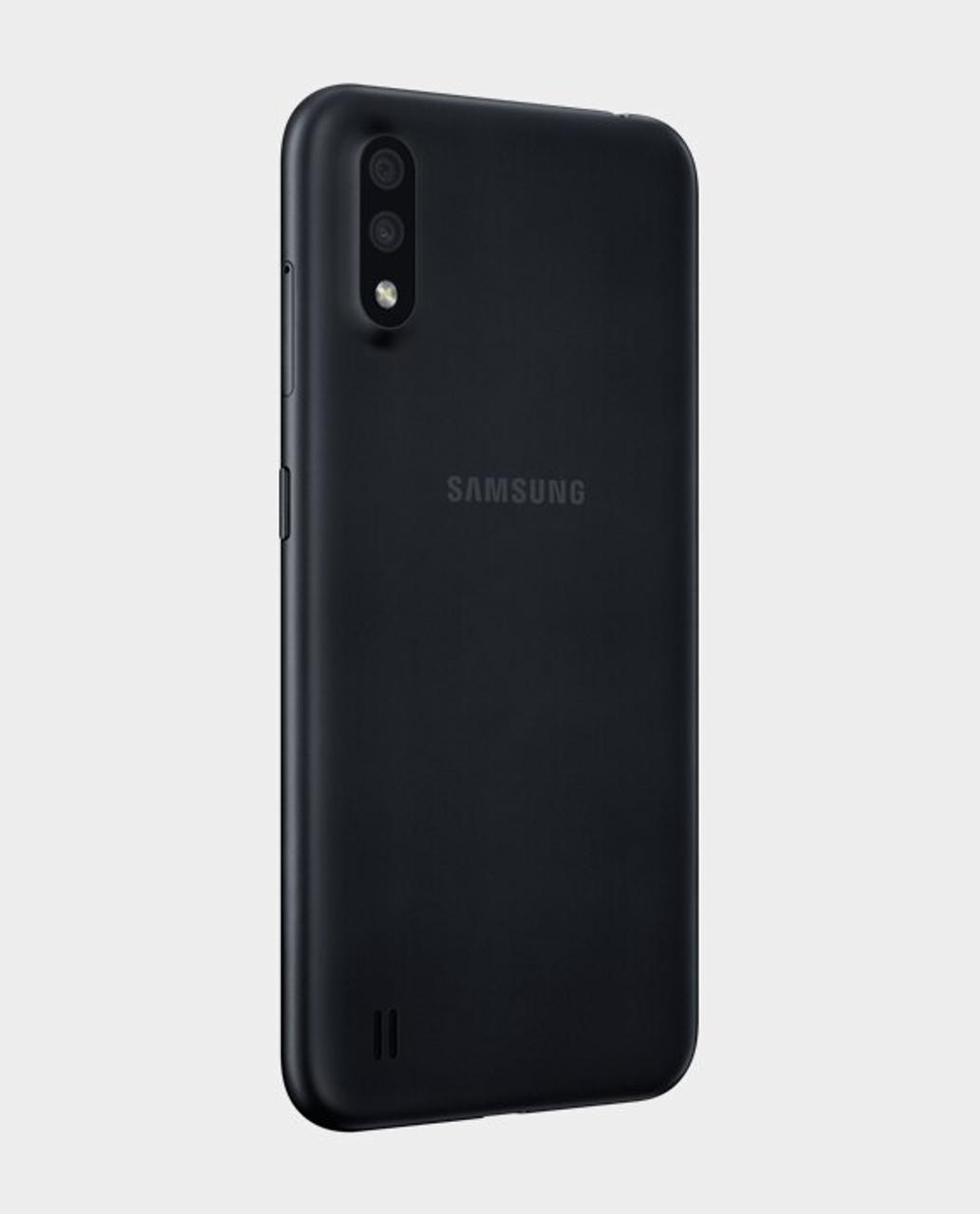 Samsung Galaxy A01 (32GB, 2GB RAM) , 13/5MP Camera Dual SIM GSM Factory Unlocked , Global 4G LTE   - *Ships from Miami*