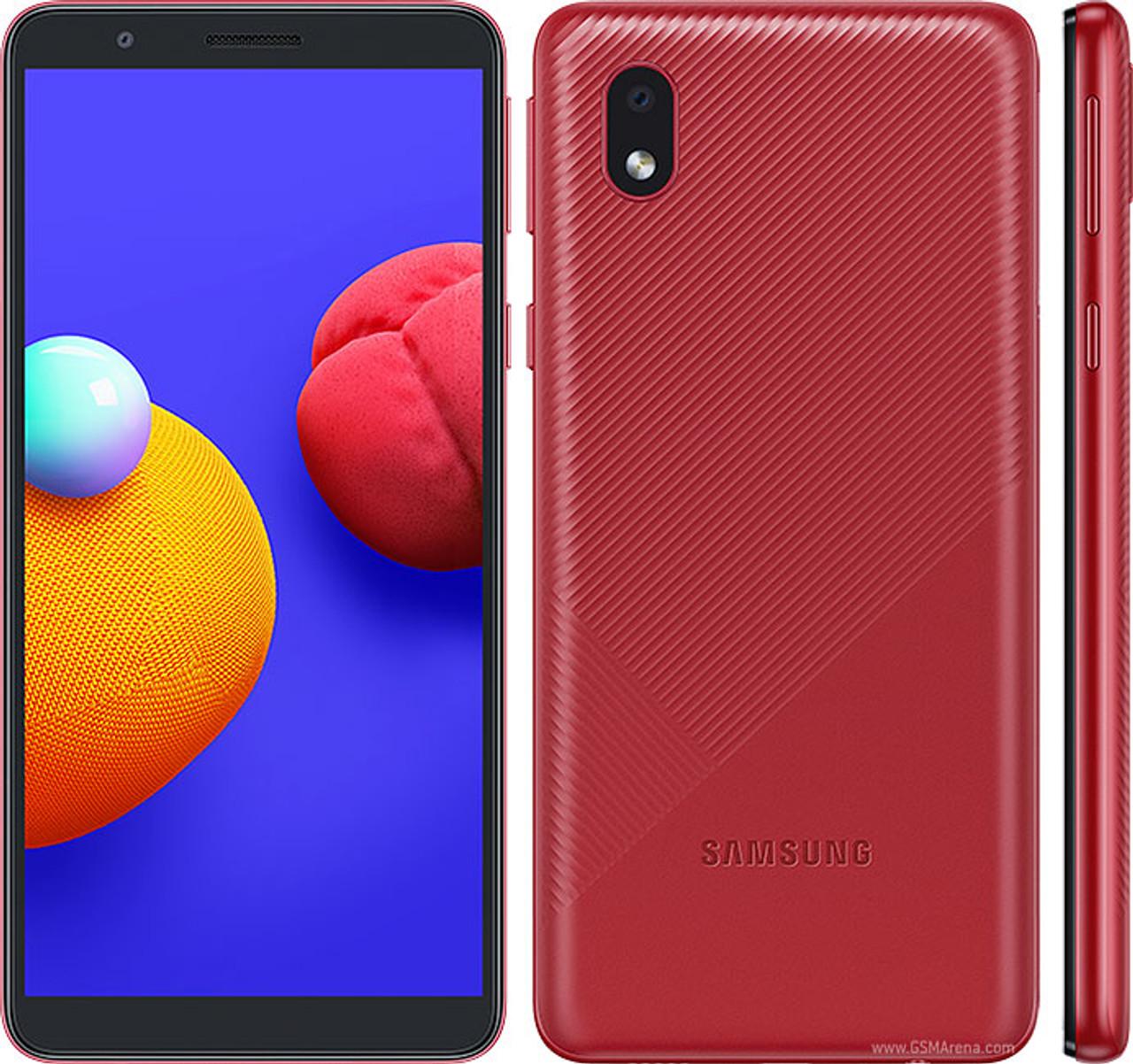 Samsung Galaxy A01 Core (16GB, 1GB RAM) , 8/5MP Camera Dual SIM GSM Factory Unlocked , Global 4G LTE   - *Ships from Miami*