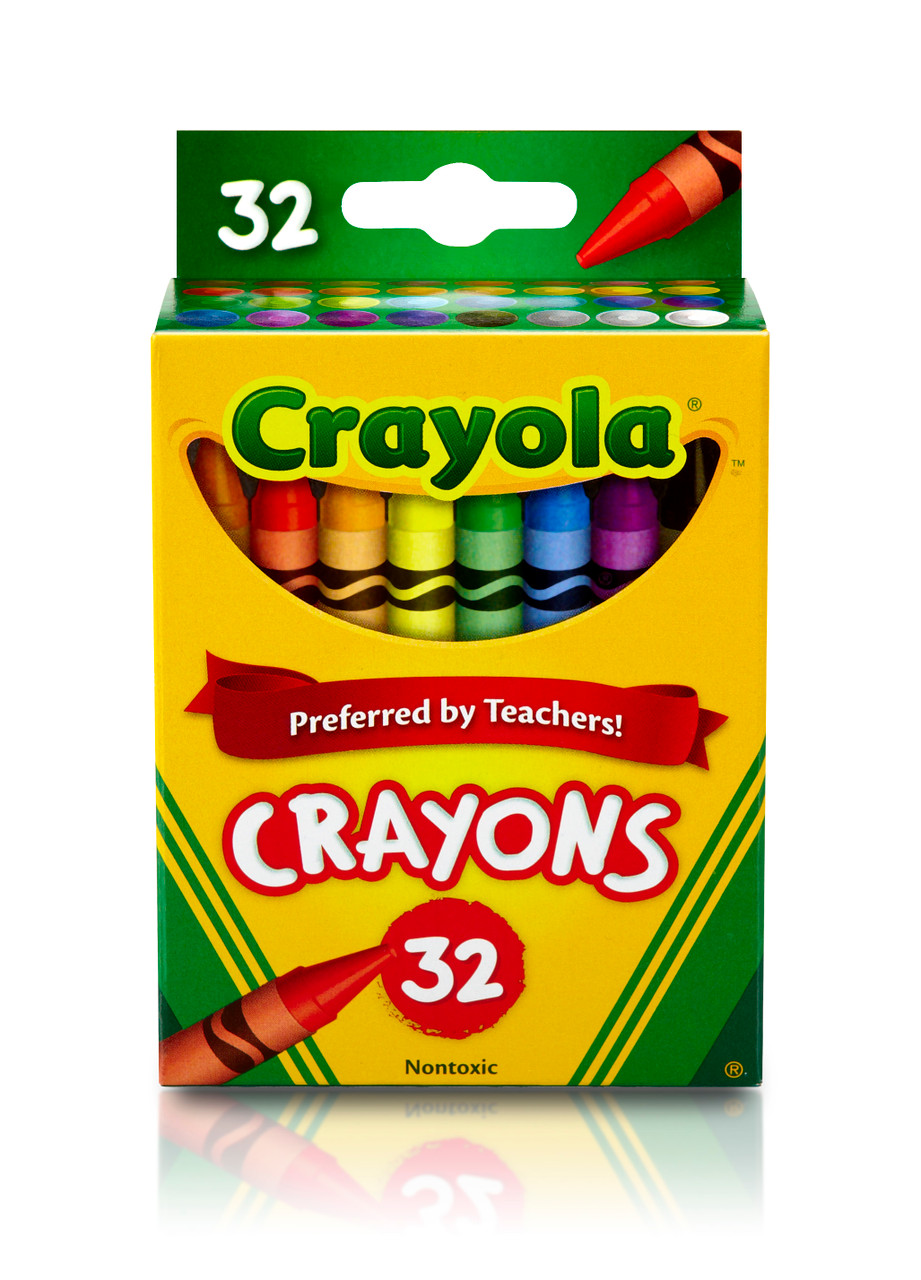 Crayola Classic Crayons, 32 Count  - *Ships from Miami*
