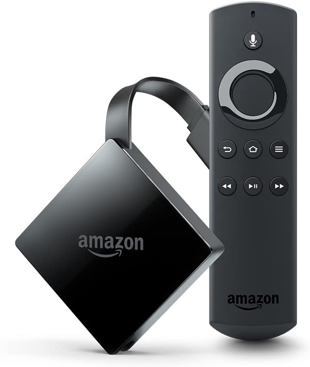 AMAZON Fire TV with 4K Ultra HD and Alexa Voice Remote (Pendant Design)   Streaming Media Player