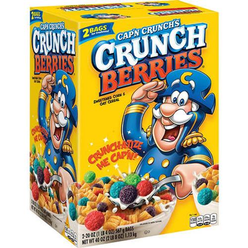 Cap'n Crunch's Crunch Berries Cereal (40 oz.) - *In Store