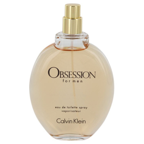 OBSESSION by Calvin Klein Eau De Toilette Spray (Tester) 4 oz for Men - *Special Order