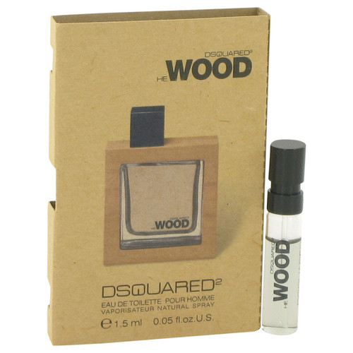 He Wood by Dsquared2 Vial (sample) .05 oz for Men - *Special Order