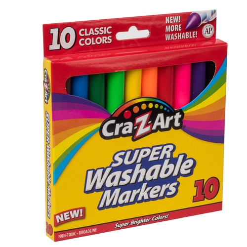 CRA-Z ART SUPER WASHABLE MARKERS
