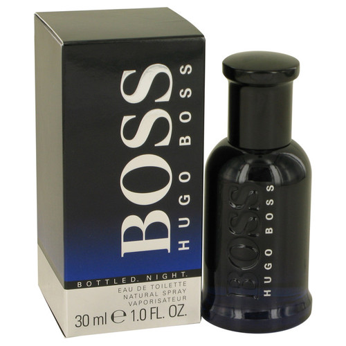 Boss Bottled Night by Hugo Boss Eau De Toilette Spray 1 oz for Men - *Special Order