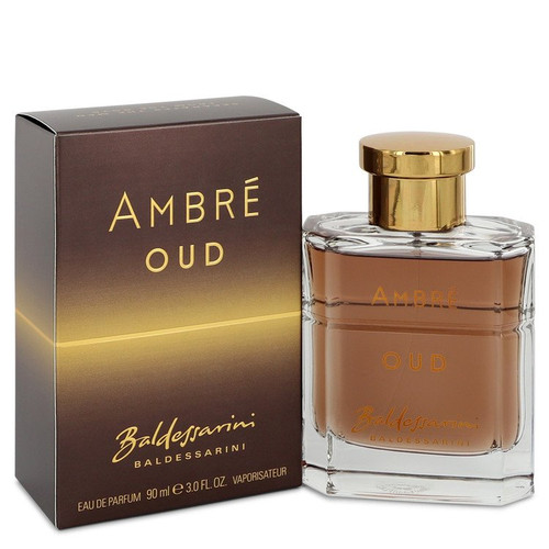 Baldessarini Ambre Oud by Hugo Boss Eau De Parfum Spray 3 oz for Men - *Special Order