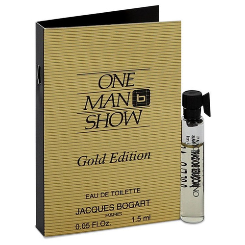 One Man Show Gold by Jacques Bogart Vial (sample) .05 oz for Men - *Special Order