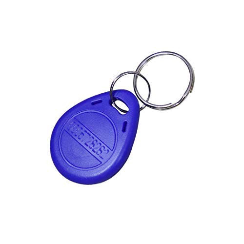 ETEKJOY  125KHz RFID Key Fob Proximity ID Card Token Tag Keypad Card for Door Entry Access Control System for Security Lock Wholesale, Read Only