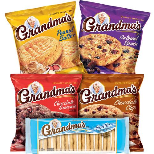 Grandma's Cookies Variety Pack (36 pk.) - *In Store