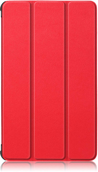 Gylint Lenovo TAB M7 Case, Smart Case Trifold Stand Slim Lightweight Case Cover for Lenovo TAB M7 Tablet Red
