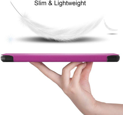 Gylint Lenovo TAB M7 Case, Smart Case Trifold Stand Slim Lightweight Case Cover for Lenovo TAB M7 Tablet Purple
