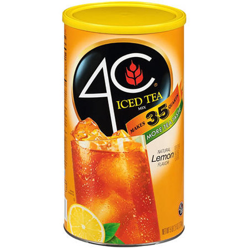 4C 35 QT Lemon Iced Tea Mix (82.6 oz.) - *In Store