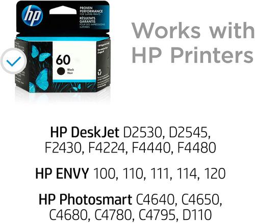 INK CARTRIDGE/ HP #60 BLACK