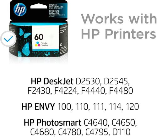 INK CARTRIDGE/ HP #60 COLOUR