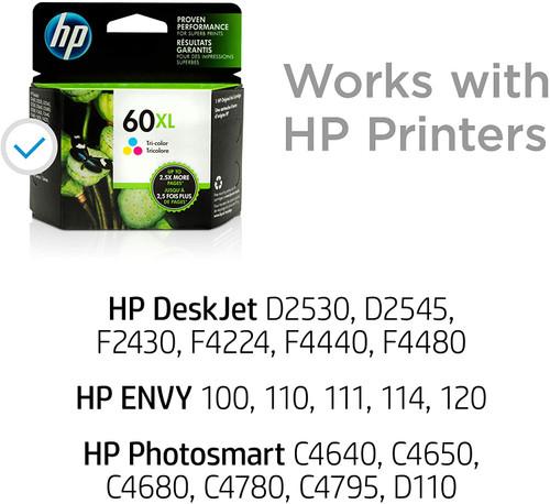 INK CARTRIDGE/ HP #60XL TRI COLOUR