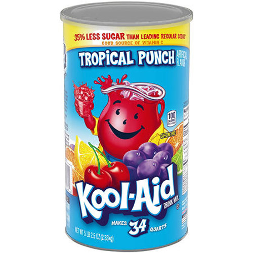 Kool-Aid Tropical Punch Juice Mix (82.5oz) - *In Store