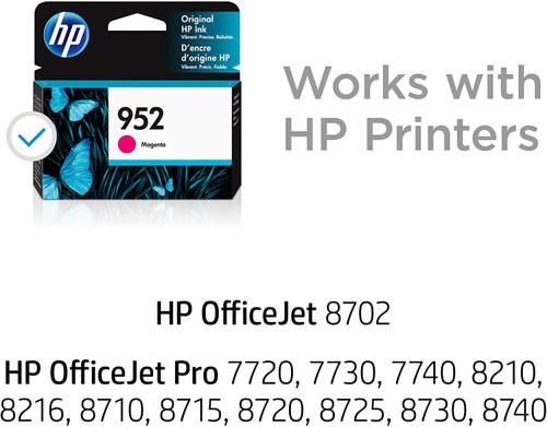 INK CARTRIDGE/ HP 952 MAGENTA